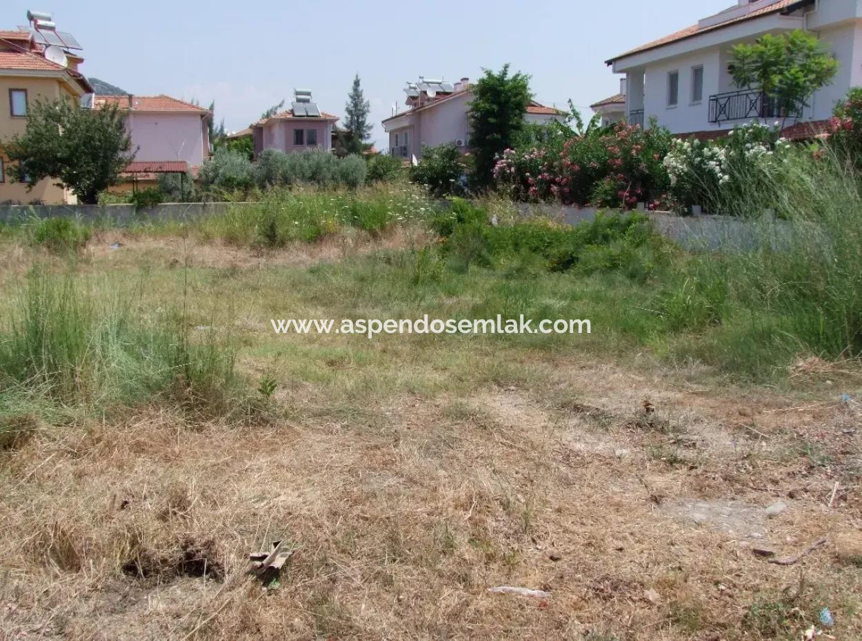 500M2 Grundstück Zum Verkauf In Dalyan Gülpınar Zum Verkauf