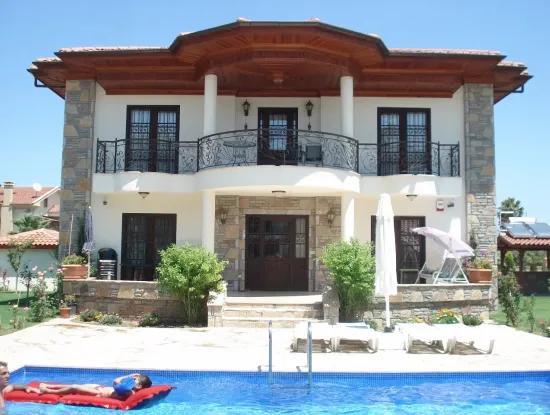 In Dalyan Gülpınar Dalyan Villa Für Verkauf Luxus-Villa In Grundstück Von 800M2 Innerhalb Der Empfohlenen 4 1