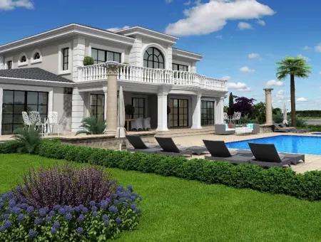 Zeytinalan 6800M2 Grundstück Mit Seeblick Luxus-Villa Zum Verkauf In Koycegiz, Villa Zum Verkauf In Voll Zeytinalani