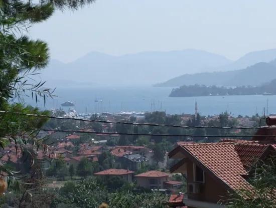 Gocek In Gocek Fethiye With Full Sea Views Of 1000M2 Land For Sale In Land For Sale