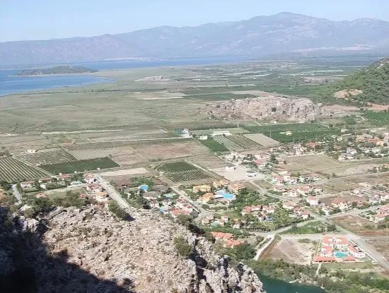 In Gurpinar In Dalyan For Sale Dalyan Plot For Sale In 1502M2 30 Zoning