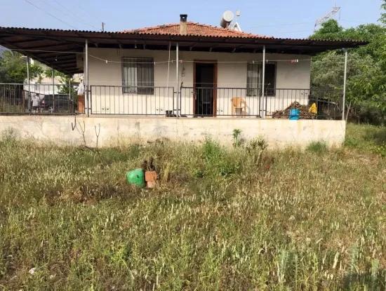 Village House In Koycegiz, 903M2 2 1 Zeytinalani Is For Sale.