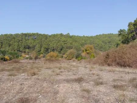 Land For Sale In Marmaris Çamlı Village Built-Up Area 4300M2 Land For Sale
