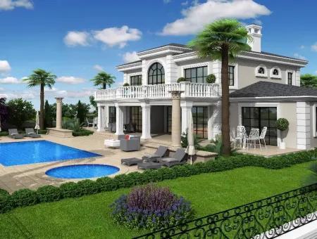 Zeytinalan 6800M2 Plot With Lake View Luxury Villa For Sale In Koycegiz, Villa For Sale In Full Zeytinalani