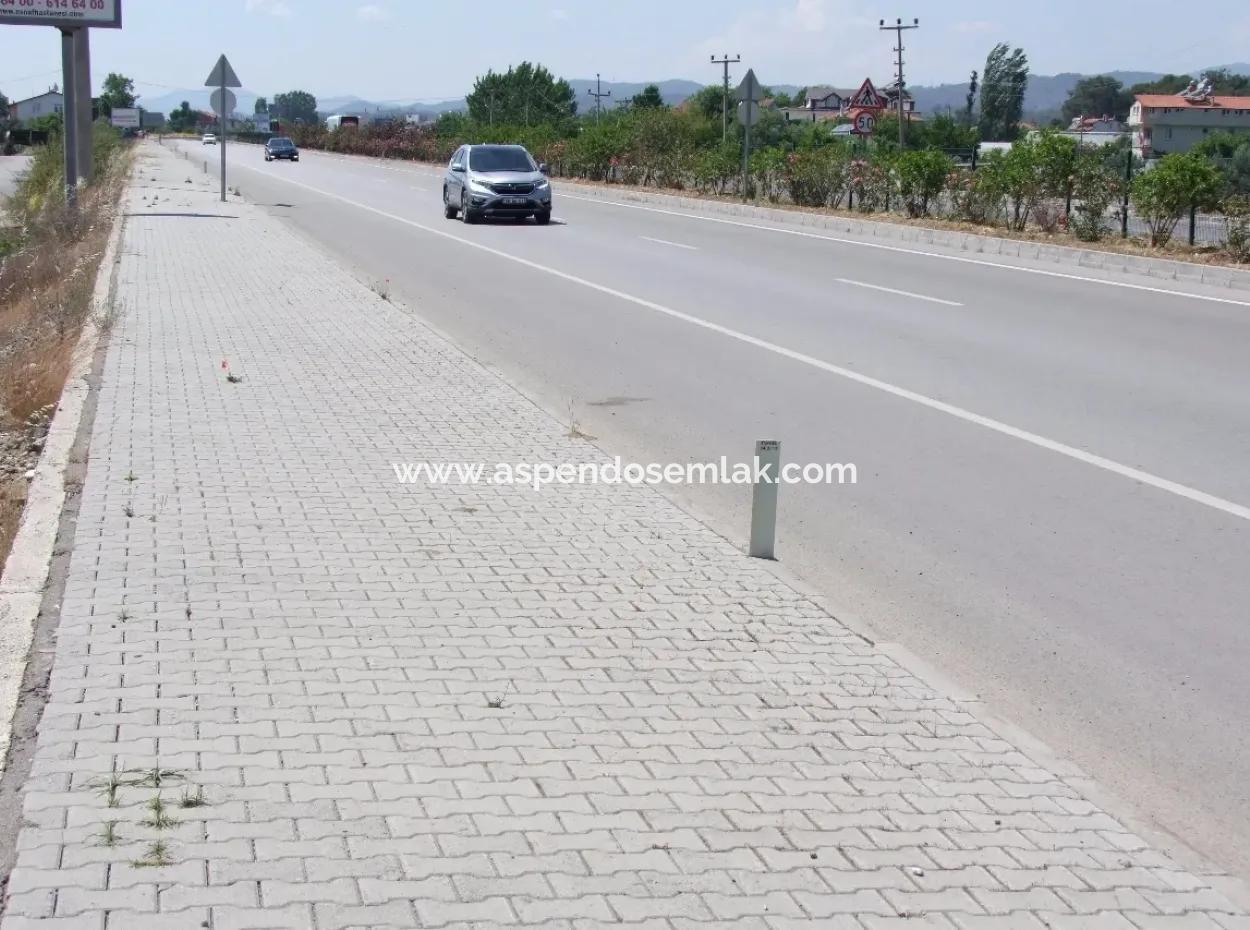 Fethiye Satılık Ticar Arsa Anayola Sıfır 2500M2 Satılık Kelepir Arsa