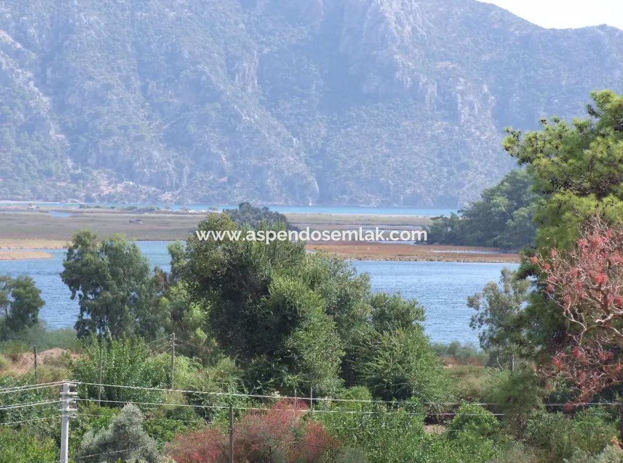 Çandır Köyü'De Satılık Villa Köyceğiz Çandır Deniz Manzaralı Satılık Villa