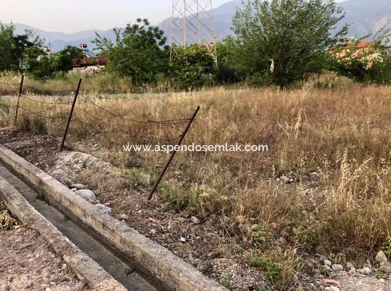Köyceğiz Yenimahalle'De 1000M2 Köşebaşı Arsa Satılıktır.