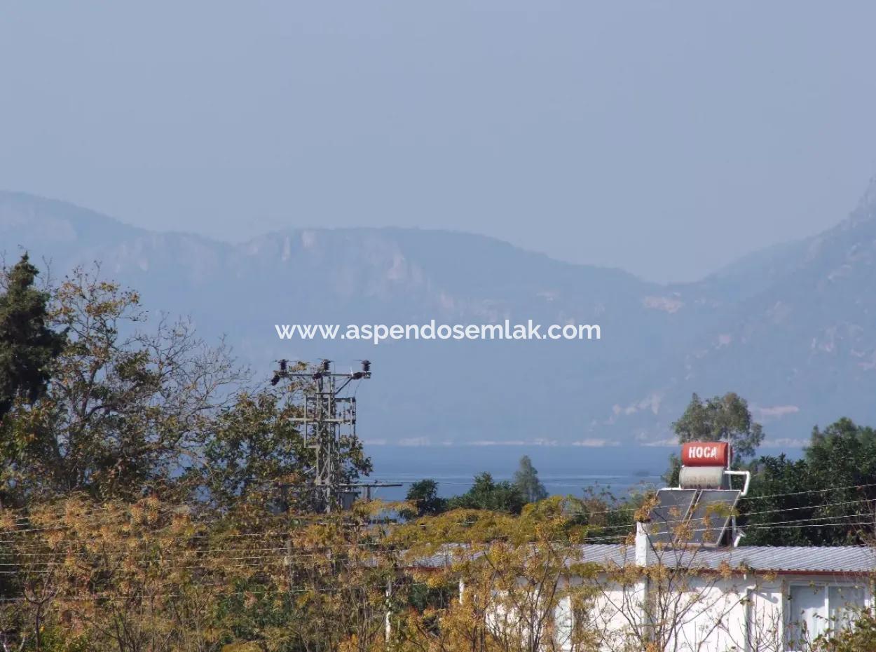 Çamlı'da Deniz Manzaralı 6850M2 İmarlı Satılık Arsa