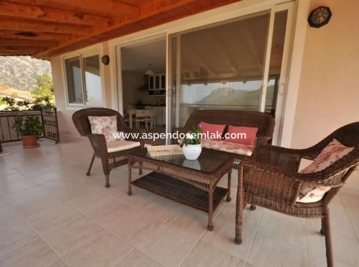 Gökbelde Satılık Villa Dalyan Gökbel İztuzuda Full Deniz Manzaralı Satılık Villa