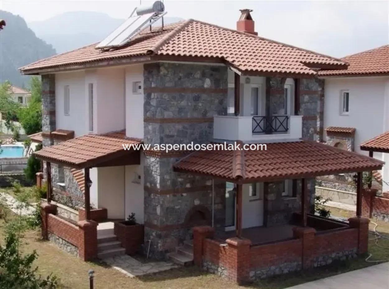 Dalyan'Da Site İçinde 3+1 Kelepir For Sale Atatürk Mahallesinde Site İçinde Dalyan Satılık Villa