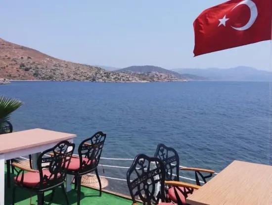 Bozburunda Satılık Villa Denize Sıfır Satılık Özel Koy