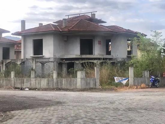 Dalyan Satılık Villa Dalyan Köşebaşı 506M2 Arsa Satılık Ticari Villa