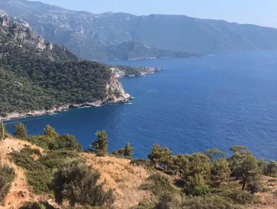 Faralya Satılık Villa Faralyan Full Deniz Manzaralı Satılık Satılık Villa