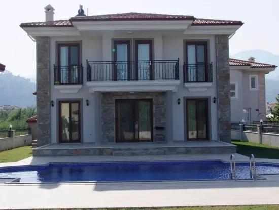Dalyan Satılık Lüks Villa Dalyan Gülpınar Da 510M2 Arsa İçinde 4+1 Satılık Villa