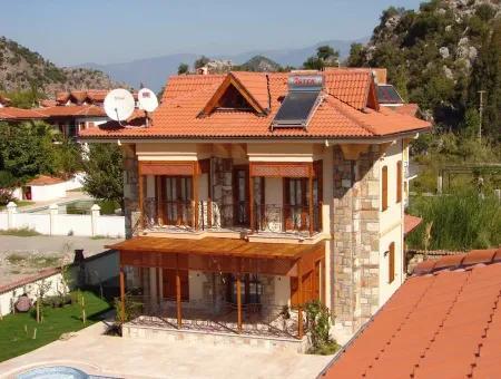Dalyan Satılık Villa Dalyan Maraş Mahallesinde Kelepir Satılık Villa