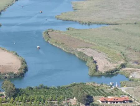 Çandır Satılık Arsa Köyceğiz Çandır Mahallesinde Kanala Sıfır Satılık Arsa Tarla