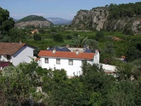 Çandır Satılık Otel Köyceğiz Dalyan Çandır 30 Odalı 5000M2 Arsa İçinde Satılık Otel