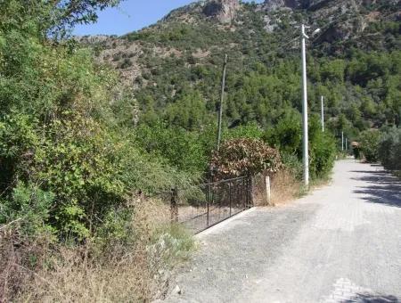 Mergenlide Satılık Arsa Ortaca Mergenlide 930M2 İmarlı Satılık Arsa