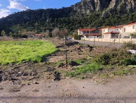 Dalyan Satılık Arsa Dalyan Kanala Yakın Turizm İmarlı Satılık Arsa
