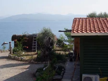 Akbük Satılık Denize Sıfır Bungolev Turnalı 800M2 Arsa İçinde Denize Sıfır Satılık Villa