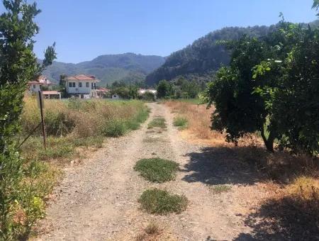 Okçular'da Dağ Manzaralı 570M2 Satılık Arsa