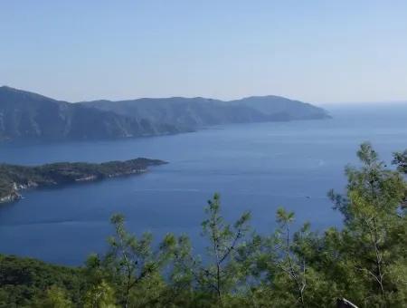 Ekincik Çandır Arasın'Da Deniz Manzaralı Kelepir Emlak Satılık Arsa