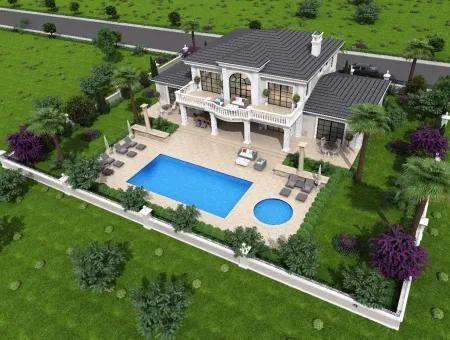 Zeytinalanda Satılık Lüks Villa Köyceğiz Zeytınalanda 6800M2 Arsa Full Göl Manzaralı Satılık Villa